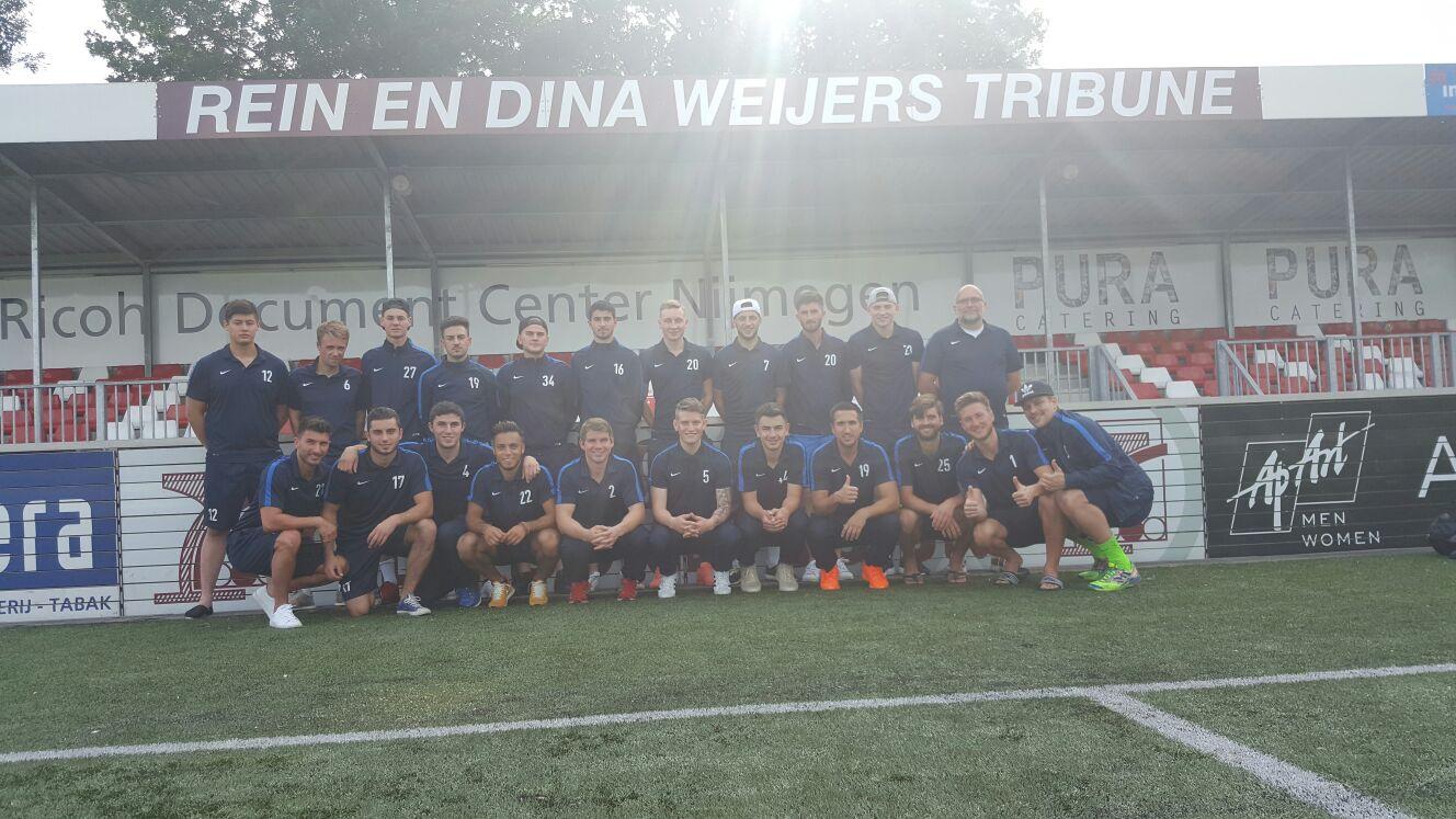 Die Sommervorbereitung beim FC Waldkirch – Highlight beim JVC Cuijk